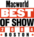 Macworld - Best of Show Award 2004