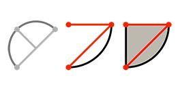 SketchUp Pro 2014 : Kreisbogen-Werkzeug
