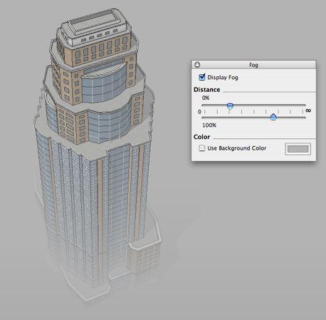 SketchUp Pro 6.0 : Nebel