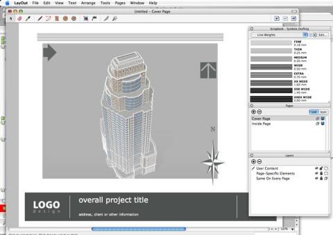 SketchUp Pro 6.0 : Layout