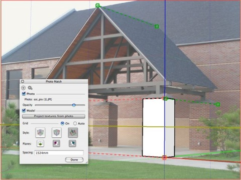 SketchUp Pro 6.0 : Photo Match