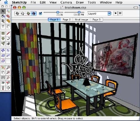 SketchUp 4.0 f. Mac OS X