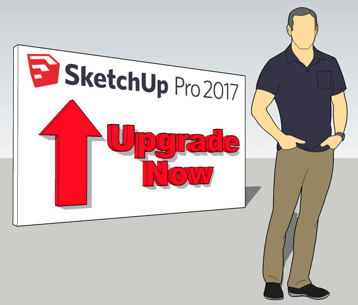 SketchUp Pro 2017 : Upgrade Now