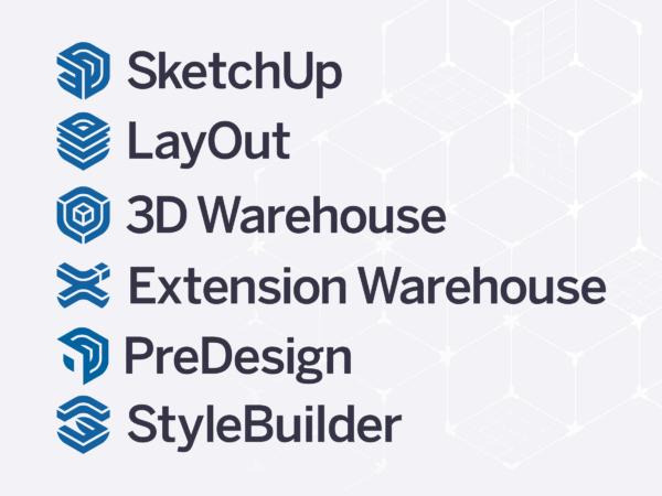 SketchUp Logo Set
